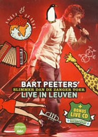 Cover Bart Peeters - Slimmer dan de zanger toer - Live in Leuven [DVD]